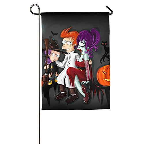 Futurama Halloween Costumes For Sale - Futurama And Halloween Decorative Home Garden House Flag