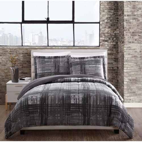 Camden Comforter Set - Style 212 Comforter Mini Set, Twin, Camden Plaid
