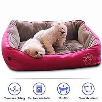 Amazon.com: WarmShe Cama para mascotas para perros y gatos ...