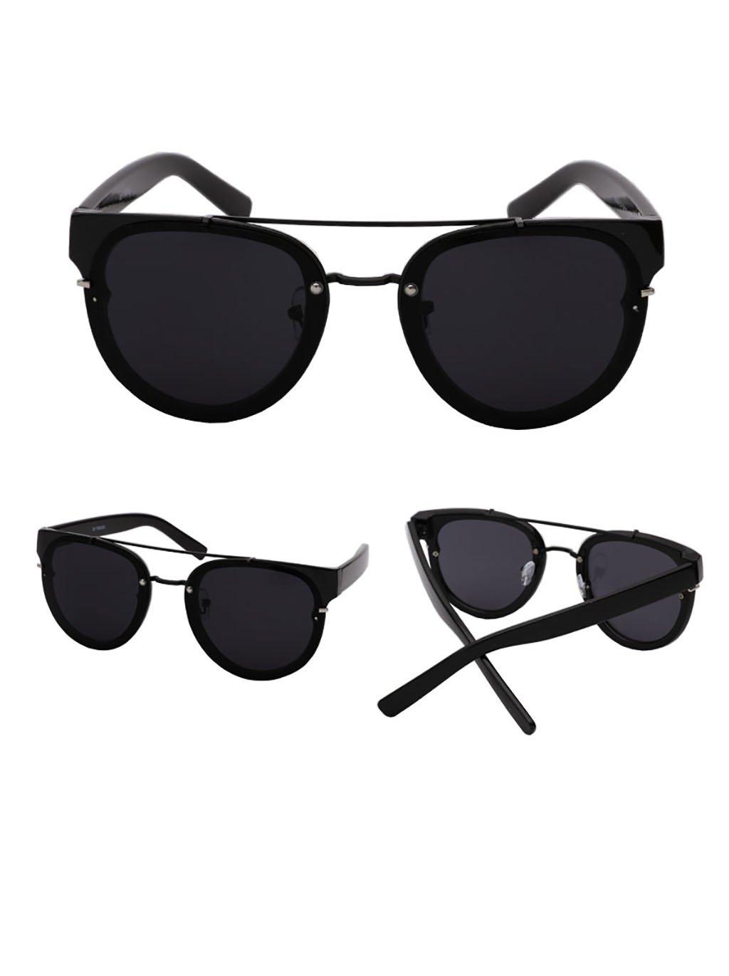 Sonnenbrille Sonnenbrille weiblich / runde Gesicht große Sonnenbrille Mode Paar reflektierende Sonnenbrille männlich ( Farbe : 5 ) L9ZDq2