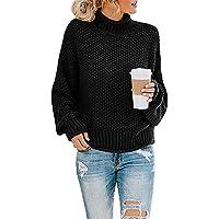 Doreyi Women's Oversized Turtleneck Sweater (various colors/sizes)
