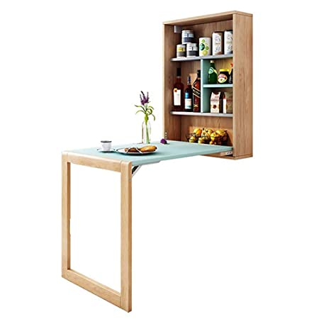 Mesa auxiliar cocina Mesa plegable pared, montado en la pared de ...