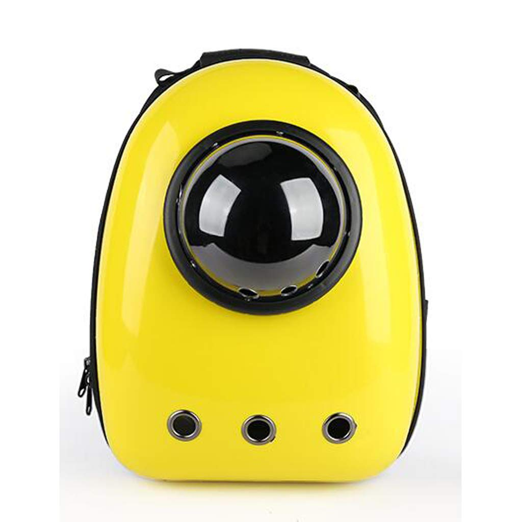 FJH Cat Space Bag Pet Backpack Space Capsule Portable Backpack Outfit Cat Breathable Schoolbag