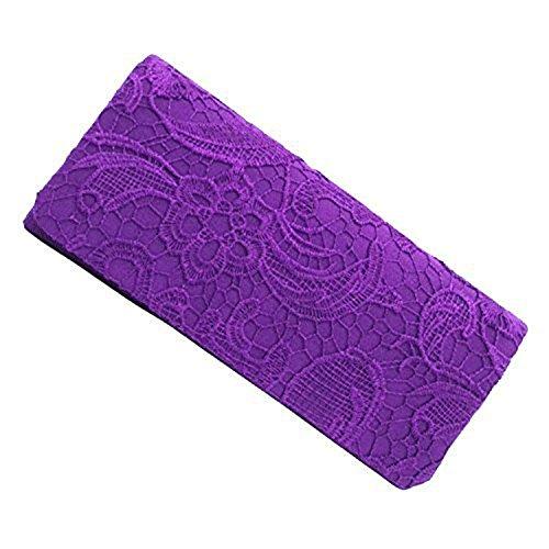 à coupe femme eleoption classique soirée pour main sac de violet Pochette nZI8Pxqgw
