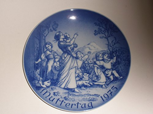 1975 Mother's Day Collector's Plate by (Bareuther Mothers Day Plate)