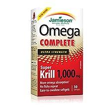 Jamieson Omega Complete Super Krill 1,000 mg