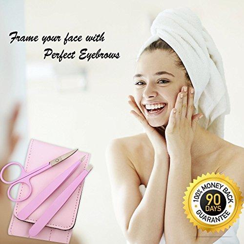 Tweezer Set Precision Tweezers For Eyebrows and ingrown hair