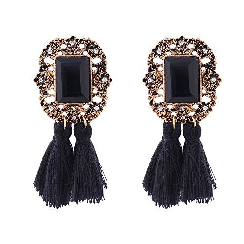 Shining Diva Fashion Latest Bohemian Tassel Earrings for Women & Girls