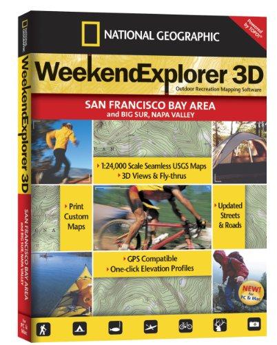 Weekend Explorer 3D - San Francisco Bay Area & Big Sur, Napa - Outlets San Francisco Area Bay