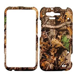 HTC RHYME MOSSY OAK CAMO CAMOUFLAGE TREE RUBBERIZED COVER HARD PROTECTOR CASE SNAP ON PERFECT FIT