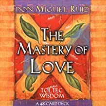 Mastery Of Love Cards: A 48-Card Deck (Small Card Decks) by Ruiz, don Miguel (2004) Cards