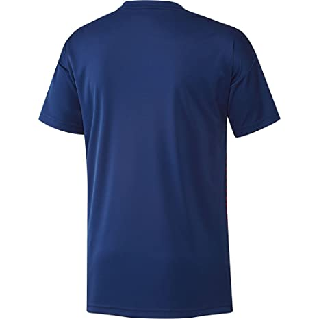 Adidas Japón de Home Pre Match Camiseta, Todo el año, Hombre, Color Ngtblu/Japred, tamaño Small: Amazon.es: Deportes y aire libre