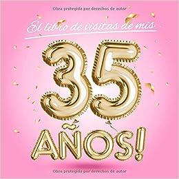 El libro de visitas de mis 35 años: Decoración rosa para el ...