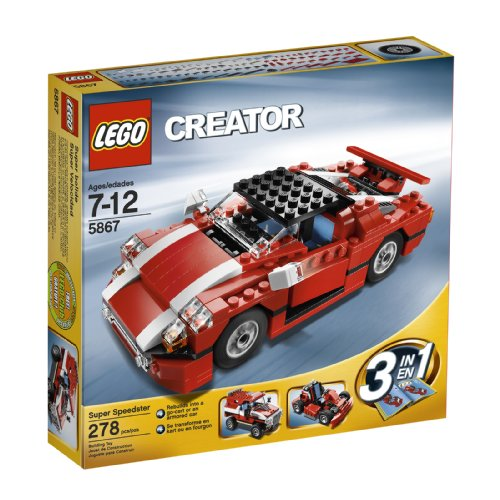 Lego Creator Red Car Instructions