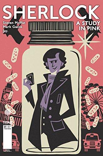 Sherlock: A Study in Pink #1 Manga Artist Question 6 Cover E Comic Book