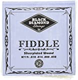 Black Diamond N719 Silverplated Fiddle Strings, Medium