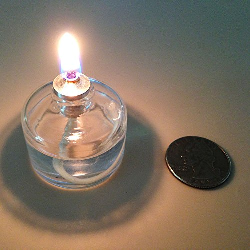 Firefly Refillable Clear Glass Unscented Tealight Candles
