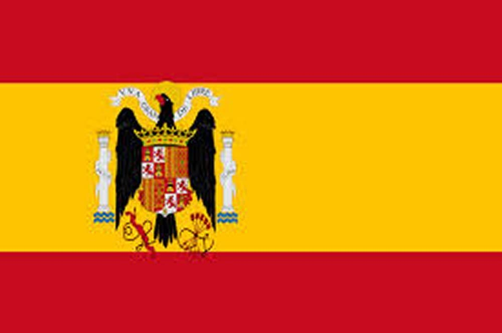 3 x 5 pies Poliéster bandera España bajo FRANCO 1938 – 1945 ...