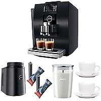 Jura 15182 Z6 Automatic Coffee Machine + Jura Glass Milk Container + Jura Smart Filter Cartridges + Cups