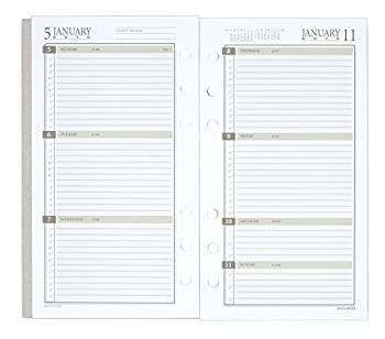 Day Runner Weekly Planner Refill 2015, 3.75 X 6.75 Inch Page Size (471-285y) 5