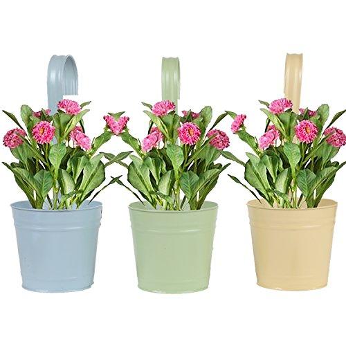 Trenton Gifts Hanging Pots Planters, Hanging Planter Pots (Ceramic Split Bowl)