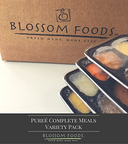 Frozen Pureed Complete Meals Variety Pack (12) for Swallowing (Cheese Sausage Casserole)