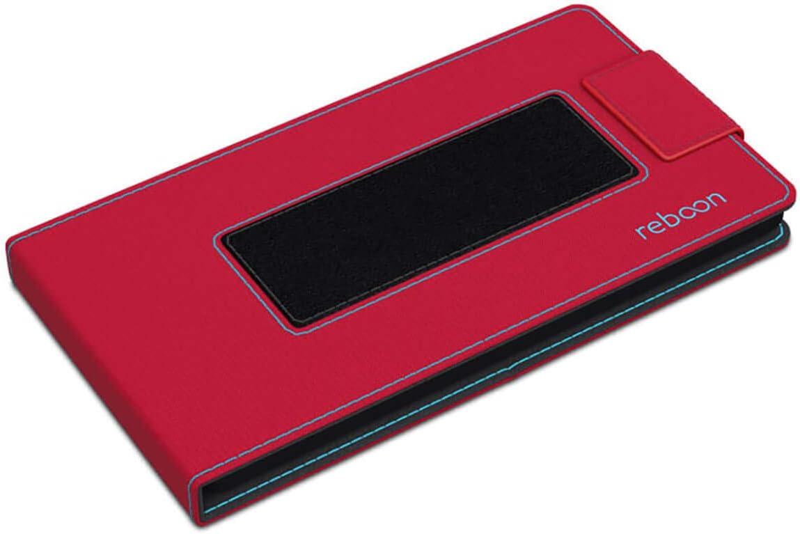 Testsieger reboon H/ülle f/ür ZTE Nubia Z7 Max Tasche Cover Case Bumper Rot