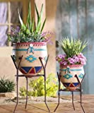 Southwest Garden Planters - Set of 2