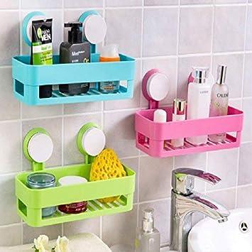 Kitchen Storage Rack Holder Sink Drainer Bathroom Shelf Soap Sponge Organizer WA