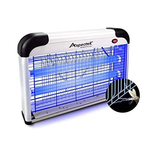 ASPECTEK Upgraded 20W Electronic Bug Zapper, Insect Mosquito, Fly, Moth, Wasp, Beetle & Other pests Killer Indoor Residential & -