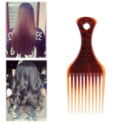 1 Set Combs Hair Brush Afro Comb Salon Hairdressing Styling