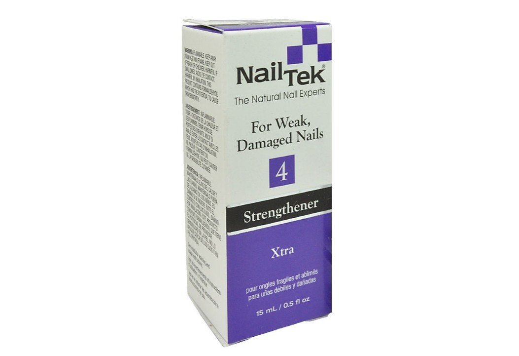 Nail Tek Xtra 4 For Weak and Damaged Nails, resistant nails highly effective treatment designed for nails resistant to conventional therapies - Size 0.5oz/15ml