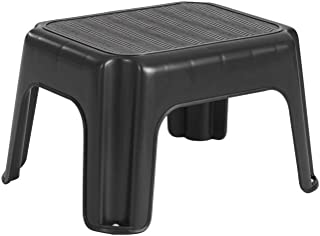 product image for Rubbermaid Step Stool (Black) 200lbs -90.7