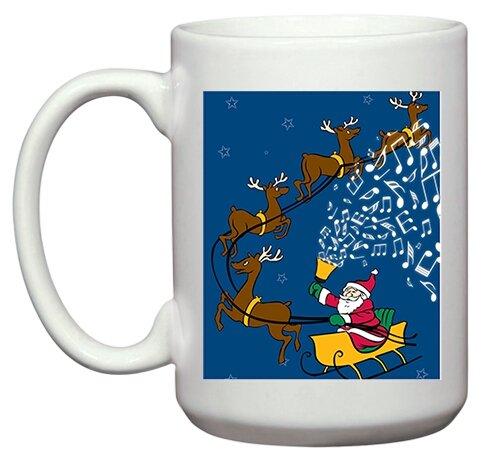 Santa Rings - 15oz. Mug