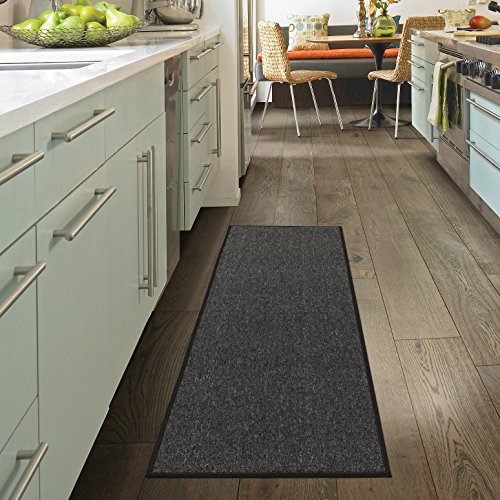 "Ottomanson Oscar Collection Runner Rug, 20"" x 59"", Charcoal"