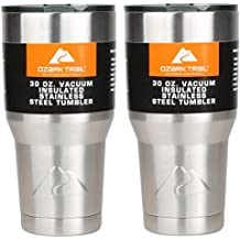 Ozark Double-Wall Insulated stainless steel tumblers - set of 2, 30 oz