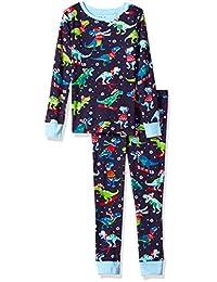 Hatley Pyjama Set - Winter Sports T-Rex
