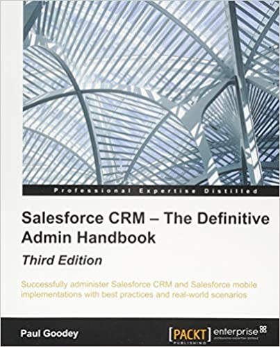 Salesforce Crm Admin Cookbook Pdf