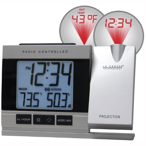 picture of Projection Alarm Clock with Temperature