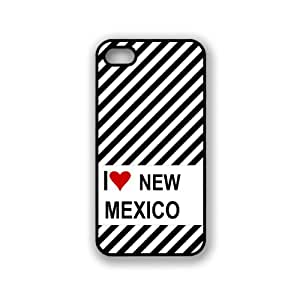 Love Heart New Mexico iPhone 5 & 5S Case - Fits iPhone 5 & 5S