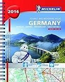 Germany, Benelux, Austria, Switzerland, Czech Republic 2014- A4 spiral atlas (Michelin Tourist and Motoring Atlas)