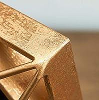 Li-lamp Reloj de Mesa de Metal rústico con números Romanos y ...