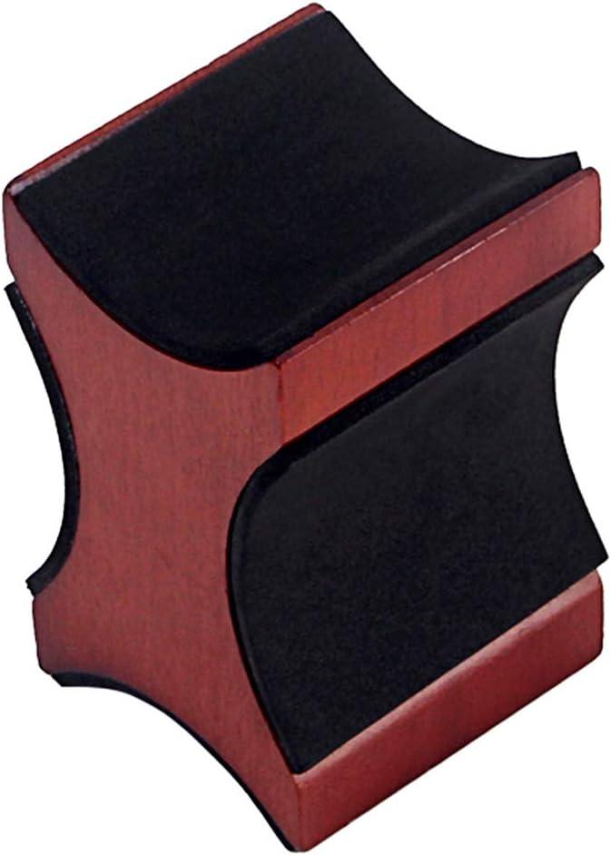 Soporte de cuello para guitarra nakw88 para reparación de guitarra, instrumento de cuerda para guitarra eléctrica y acústica y bajo, Luthier herramienta de reparación, No nulo, café, Tamaño libre