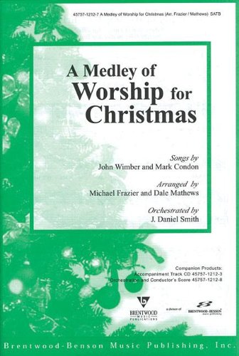 A Medley of Worship for Christmas Split Track Accompaniment CD (Pull Out)