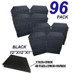 96 Pack BLACK Acoustic