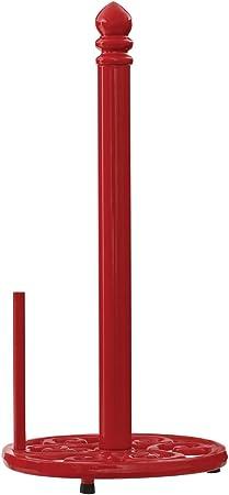 Soporte para Rollo de Cocina Premier Housewares Color Rojo Hierro Fundido
