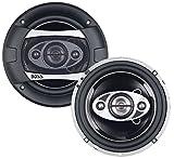 Boss Audio P65.4C 400 Watt (Per Pair), 6.5 Inch, Full Range, 4 Way Car Speakers (Sold in Pairs)