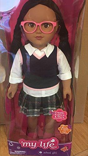 My Life As- School Girl- Hispanic (Black Hair, Brown Eyes)