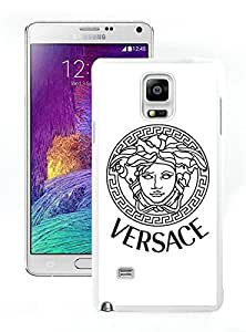 Samsung Note 4 Case,Excellent protection VERSACE 000 White For Samsung Note 4 Case