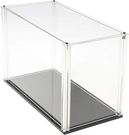 Tubayia Vitrina de acrílico transparente, expositor, caja de almacenamiento para figuras, estatuas, colección: Amazon.es: Hogar